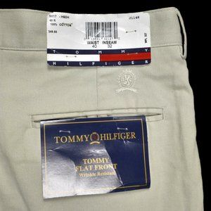 Tommy Hilfiger Stone Cotton Pants NWT $49.50